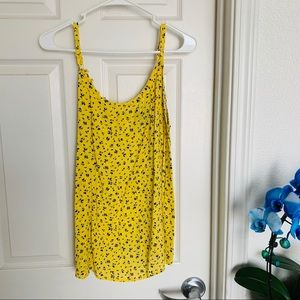 Torrid Yellow tank top blouse